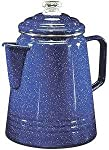 Coleman 14-Cup Coffee Enamelware Percolator (Blue) by Coleman Company