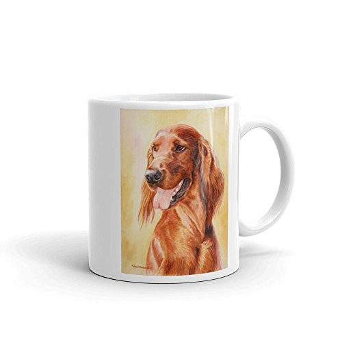 Irish Setter Head Study II, 11oz Coffee Mug