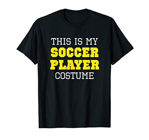This Is My Soccer Player Costume Halloween Lazy Easy ()