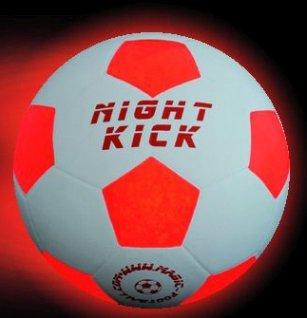 Leuchtfussball Night Kick das Original, seit 7 Jahren bewährt- Tausende begeisterte Kunden-Top Qualität und Mega Fun zum besten Preis-Das besondere Fussballgeschenk für jung und Alt! Premium LED GmbH PLS-3N G5A
