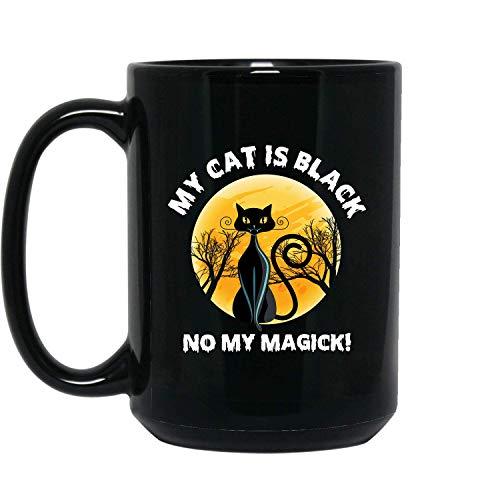 My Cat Is Black Best Halloween, Happy Halloween,
