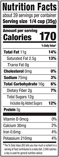 Amazon Brand - Happy Belly Nuts, Chocolate & Dried Fruit Trail Mix, 48 Ounce