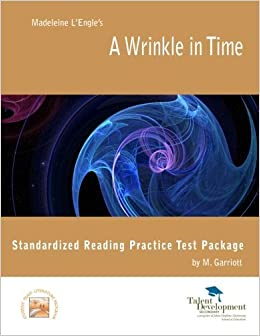 Book A Wrinkle in Time Standardized Reading Practice Test Package by Garriott M. (2012-09-27)