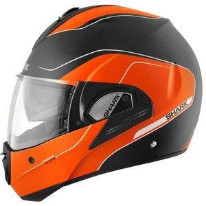 Shark Evoline Series3 Arona Mat Helmet-Black-Orange-M