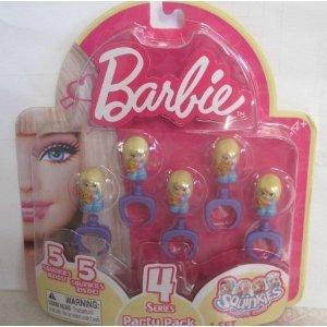 Squinkies: Barbie Party Pack - Series 4 ()