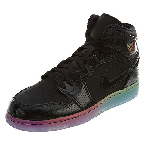 Femme Fuchsia Rose Gg Flashy 1 Basketball Prem Noir Chaussures Jordan noir De Air Retro Nike Hi 7Rv6p