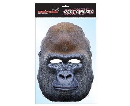 Rubies - Gorila, máscara de disfraz, talla única (GORIL01)