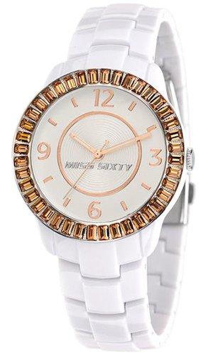 Miss Sixty Reloj analogico para Mujer de Cuarzo con Correa en Resina R0753118503: Amazon.es: Relojes