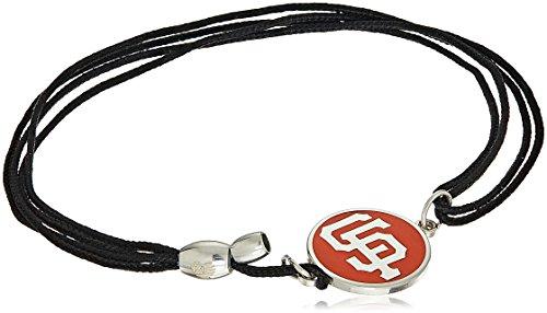 (Alex and Ani Kindred Cord San Francisco Giants Sterling Silver Bangle Bracelet)