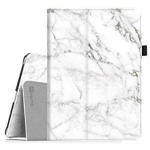 Fintie iPad 9.7 2018/2017, iPad Air 2, iPad Air Case - [Corner Protection] Premium Vegan Leather Folio Stand Cover, Auto Wake/Sleep for Apple iPad 6th / 5th Gen, iPad Air 1/2, Marble White