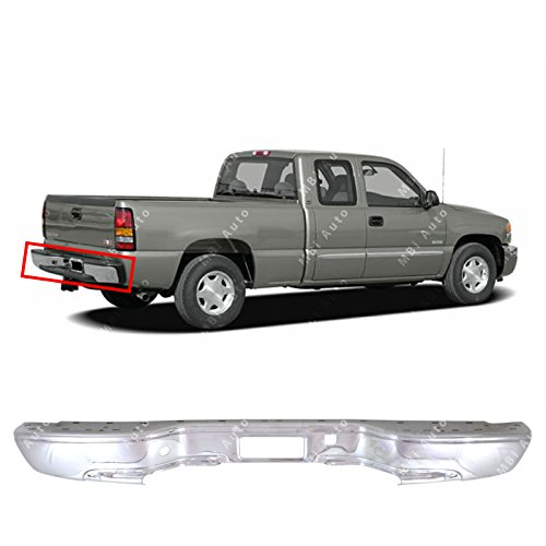 2000 gmc sierra 1500 rear bumper - 9