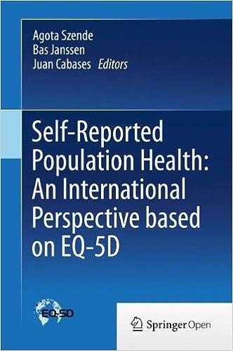 Libros Gratis Para Descargar Self-reported Population Health: An International Perspective Based On Eq-5d Epub En Kindle