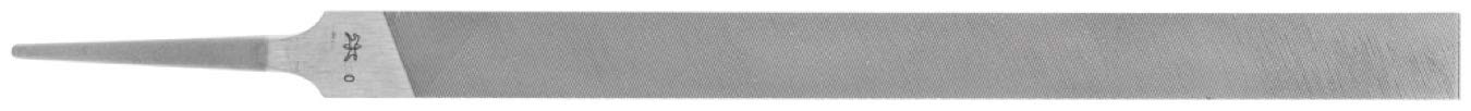 PFERD 12697 8'' Pillar File Swiss Pattern, Cut 0 (12pk)