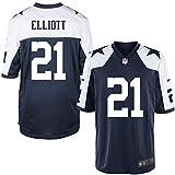 Dallas Cowboys Ezekiel Elliott Nike Game Replica Throwback Jersey