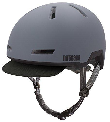 Nutcase - Tracer Bike Helmet for Adults, Shadow Grey Matte, - Kids Helmet Tracer