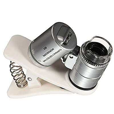 Shinee Universal 60X Optical Zoom Clip Telescope Camera for Cell Phones