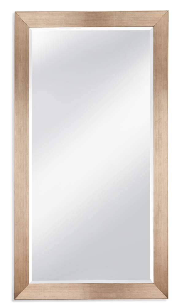 Allis Leaner Mirror in Silver - Color: Silver Dimension: 44 x 1.5 x 80 in. Weight: 85 lbs - mirrors-bedroom-decor, bedroom-decor, bedroom - 41YtL6Sf6kL -