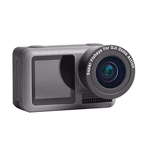 for DJI OSMO Action Camera, Macro Lens&Fisheye Lens - Macro HD Anti-Shake Portable Sports Camera Accessories ()