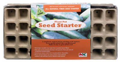 Plantation Products FT36HFB 11'' X 22'' Plant Pot Seed Starter Tray by Plantation