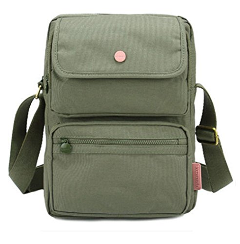 Hiking and Leisure - Bolso al hombro para mujer gris verde oscuro grisáceo