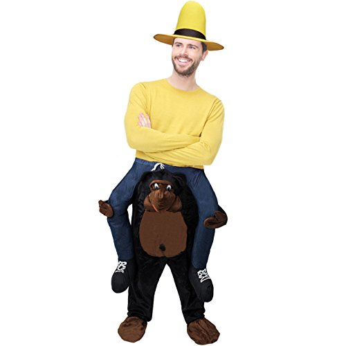 Monkey Piggyback Costume - Gorilla Ride On Costume - Carry me Costume - Riding Shoulder Costume