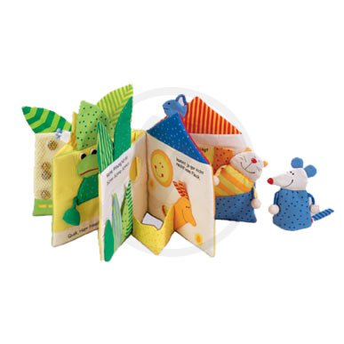 HABA Little Leaf House Soft Story Book (Little Naruto Toys)
