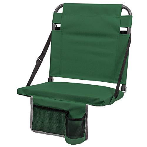 EastPoint Sports Bleacher Back Stadium Seat - Green