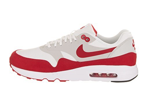 Nike Mens Air Max 1 Ultra 2.0 Le White / Scarpe Da Corsa Rosse Universitarie 11.5 Uomini Us