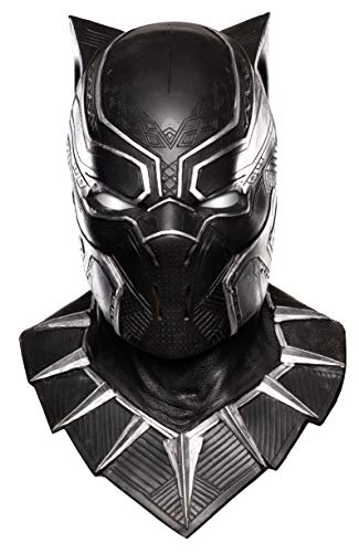 Black Panther Costume For Men (Rubie's Costume Co Captain America: Civil War Panther Overhead Latex Mask, Black, One)
