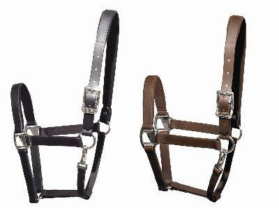 Tekna Halter Horse Black - Halter English