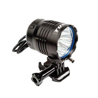Tusk Ultra Bright LED Helmet Light Kit- 1 LIGHT/2 BATTERIES