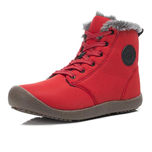 Dannto Snow Stiefel High Top Top Top Waterproof Outdoor Fur Lined Winter Warm cf9d75