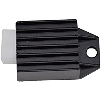 Voltage Regulator Rectifier 4 Pin for Tao Tao ATA-110 DATA135 125 Coolster 110CC ATV 3050B 3050B-2 3050C 3050D Roketa Kazuma Meerkat 50cc Falcon 90cc ATV ...