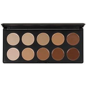 Blush Professional 10 Colour Concealer Palette by Blush Professional