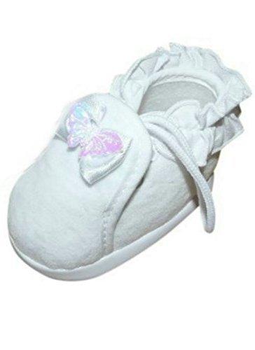 Festlicher Schuh für Taufe oder Hochzeit - Taufschuhe für Baby Babies Mädchen Kinder, in verschiedenen Größen, TP07 Gr. 16-19