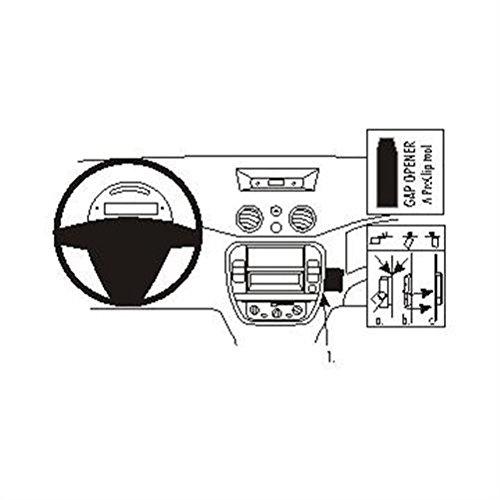 Brodit ProClip Support de Fixation pour Citroen C3 II 06-09 Noir