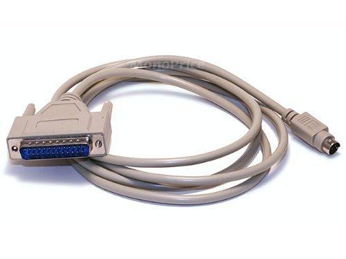 Monoprice 100521 6-Feet Mac+/IMG.I MDIN8M/DB25M Cable, Beige