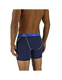 Adidas deportivo para Hombres Performance Climalite Brief Ropa Interior de boxeo (2 Paquetes)