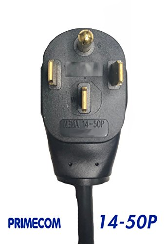 PRIMECOM 30 Feet Level 2 Electric Vehicle Charger 32 and 40 Amp 6-50P. 10-50P, 14-50P (14-50P, 32 Amp) by PRIMECOM (Image #3)