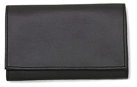 Black Vinyl Pipe Roll Up Pouch w/Surgical Rubber Lining - 1187 - 2 Oz Pipe Tobacco