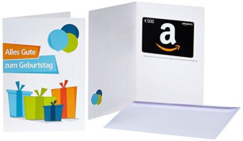 Amazon.de Geschenkkarte in Grußkarte - mit kostenloser Lieferung per Post