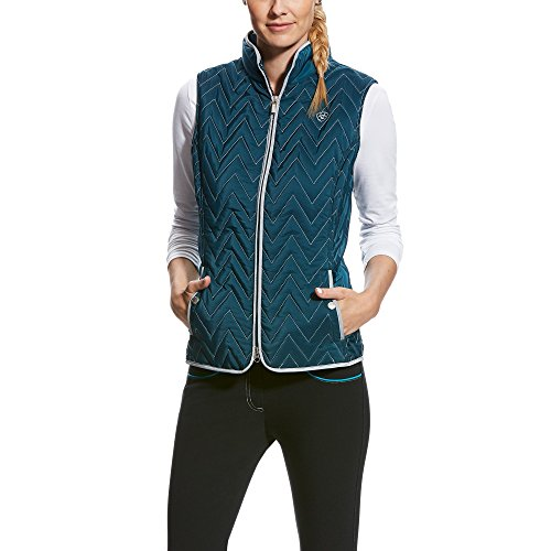 Ariat Women's Ashley Vest, Teal Extreme, (Ariat Quilted Vest)
