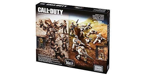 Mega Bloks CALL OF DUTY LEGACY HEROES Collector Contruction Set - 308 PCS