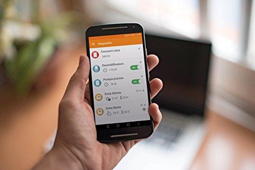 Rialto Kit Energy Monitor: monitoraggio e analisi via app dei consumi elettrici di casa, ufficio e azienda (kit di base) 4 spesavip