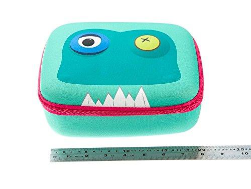 ZIPIT Beast Lunch Box, Light Blue Photo #5