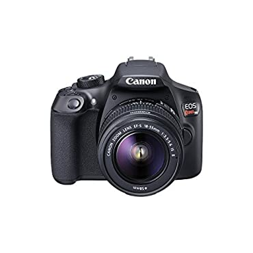 Canon EOS Rebel T6 Digital SLR Camera Kit with EF-S 18-55mm f/3.5-5.6 IS II Lens, Built-in WiFi and NFC Black (Certified Refurbished)