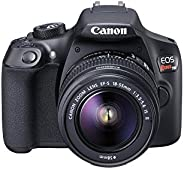 Canon EOS Rebel T6 Digital SLR Camera Kit with EF-S 18-55mm f/3.5-5.6 is II Lens, Built-in WiFi and NFC - Blac