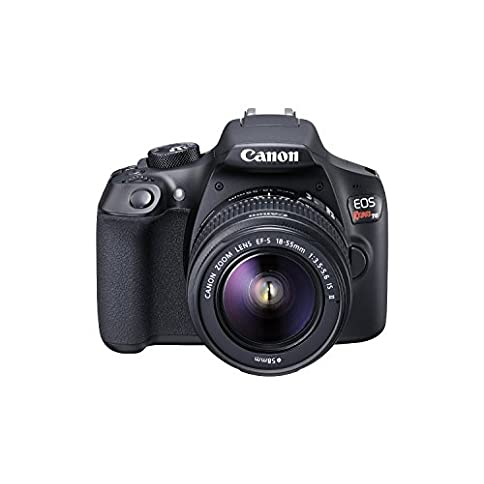- 41YtSWt5yxL - Canon EOS Rebel T6 Digital SLR Camera Kit with EF-S 18-55mm f/3.5-5.6 is II Lens, Built-in WiFi and NFC – Black (Renewed)