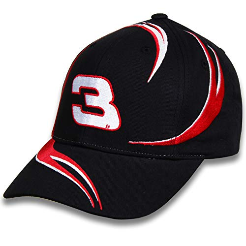 Checkered Flag Nascar Racing Cap - NASCAR Richard Childress Racing #3 Goodwrench Swirl Hat