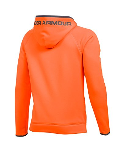 Under Armour UA Storm Armour Fleece Highlight Big Logo Youth X-Small Blaze Orange by Under Armour (Image #1)